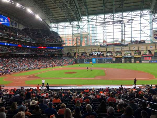 Minute Maid Park, section: 125, row: 30, seat: 12