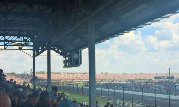 Indianapolis Motor Speedway, section: C-S12, row: BB, seat: 1