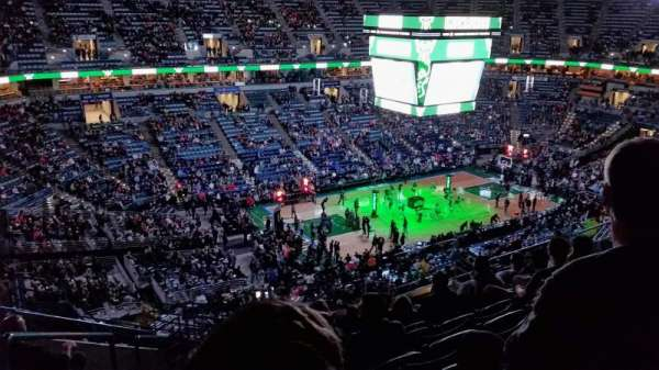 BMO Harris Bradley Center, section: 404, row: P, seat: 13