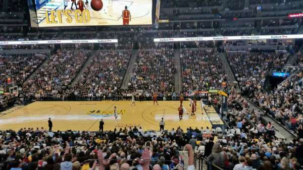 Pepsi Center, section: 148, row: 2