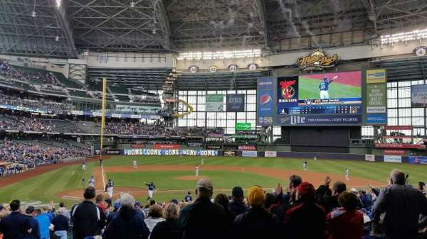 Miller Park, section: 7