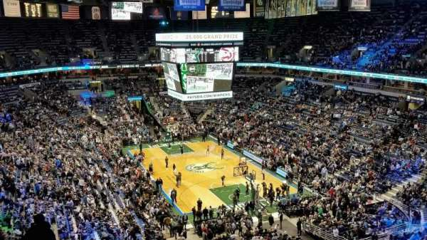 BMO Harris Bradley Center, section: 414, row: M, seat: 8
