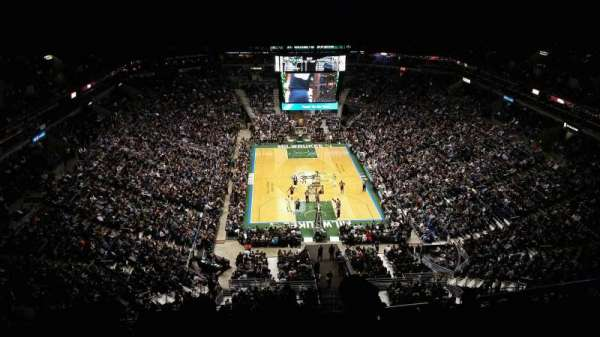 BMO Harris Bradley Center, section: 412, row: X, seat: 2