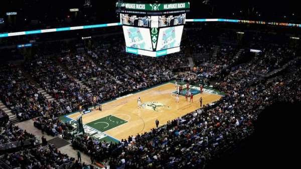 BMO Harris Bradley Center, section: 405, row: S, seat: 12