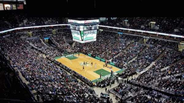 BMO Harris Bradley Center, section: 416, row: U, seat: 2