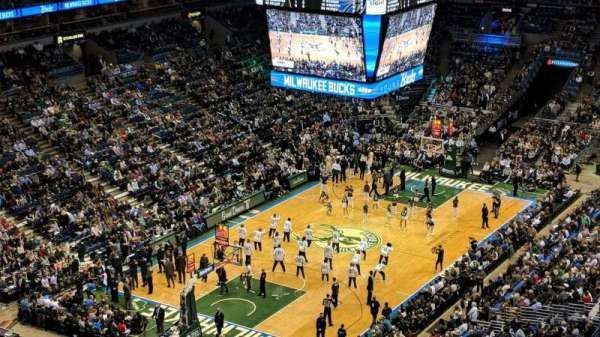 BMO Harris Bradley Center, section: 429, row: U, seat: 12