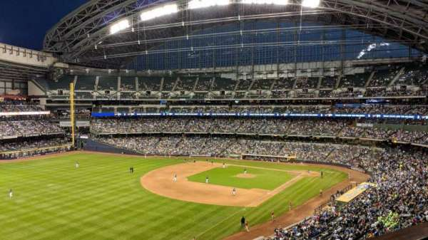 Miller Park, section: Northwestern Mutual Club