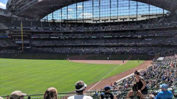 Miller Park, section: 232, row: 7, seat: 10
