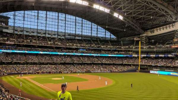 Miller Park, section: 207, row: 8, seat: 3