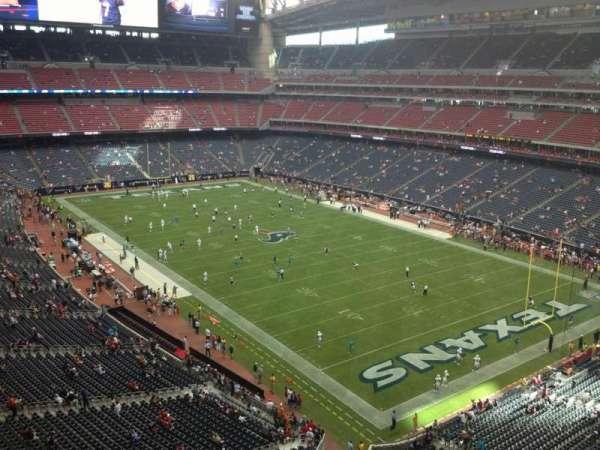 NRG Stadium, section: 527, row: H, seat: 1