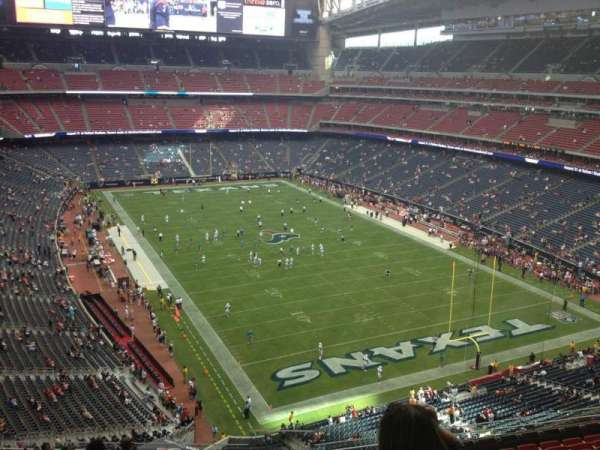 NRG Stadium, section: 525, row: M, seat: 1