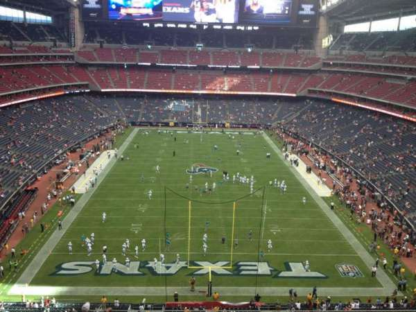 NRG Stadium, section: 521, row: L, seat: 16