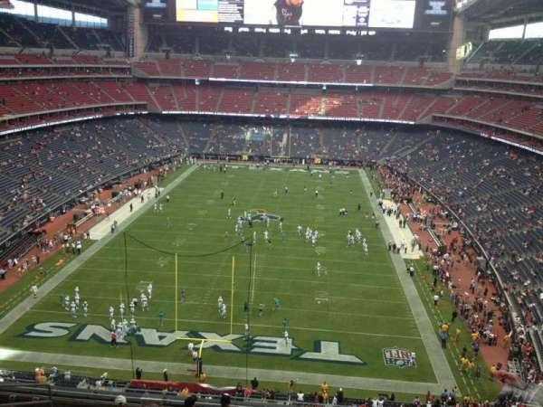 NRG Stadium, section: 520, row: L, seat: 18