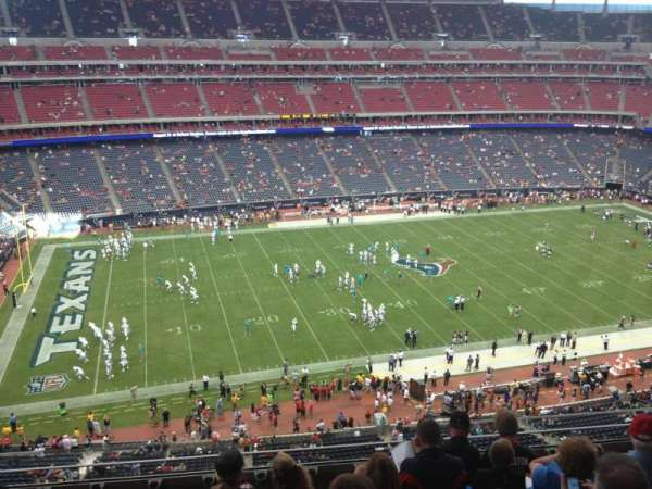 NRG Stadium, section: 511, row: M, seat: 10