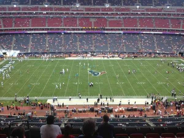 NRG Stadium, section: 503, row: M, seat: 23