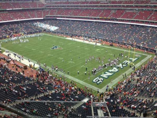 NRG Stadium, section: 501, row: I, seat: 18