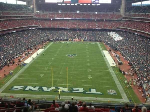 NRG Stadium, section: 546, row: M, seat: 23