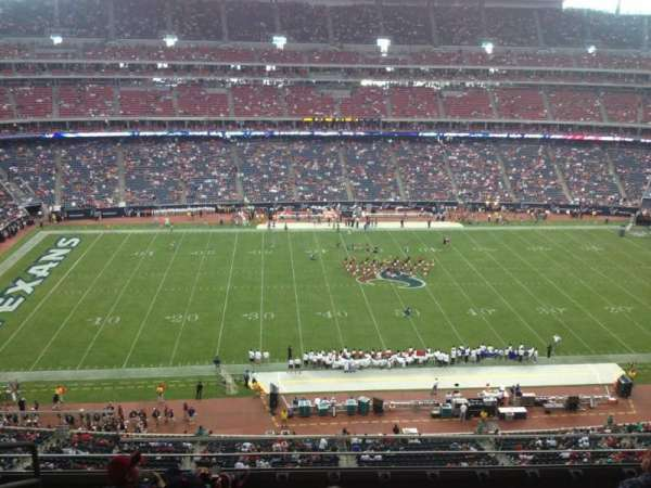 NRG Stadium, section: 535, row: M, seat: 19