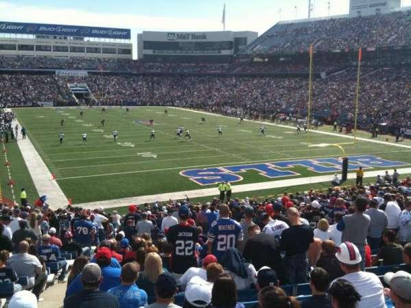 Highmark Stadium, section: 103, row: 33, seat: 16