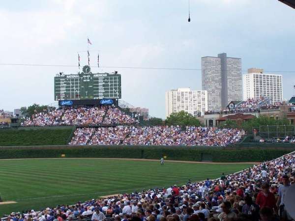 Wrigley Field, section: 228