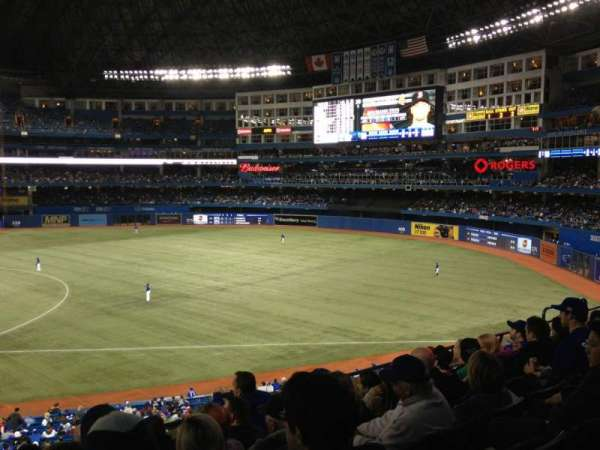 Rogers Centre, section: 215R, row: 6, seat: 5