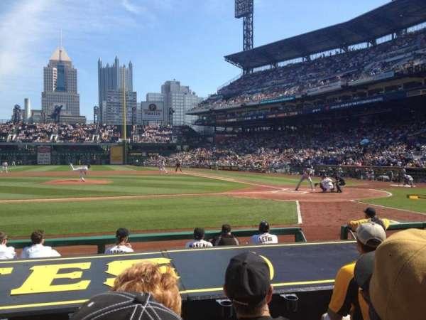 PNC Park, section: 21, row: J, seat: 10