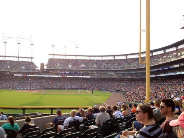 Comerica Park, section: 146, row: J, seat: 1