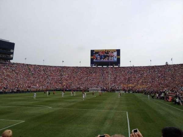 Michigan Stadium, section: 31, row: 3, seat: 1
