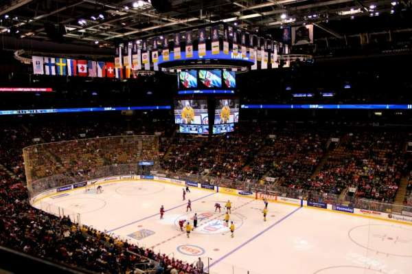 Scotiabank Arena, section: 319, row: 1, seat: 13