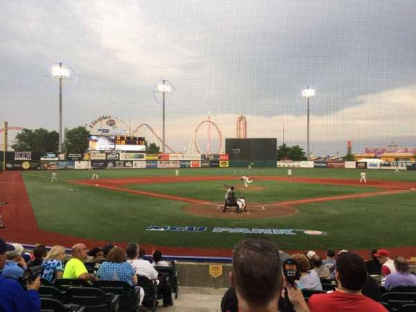 MCU Park, section: 2, row: K, seat: 1