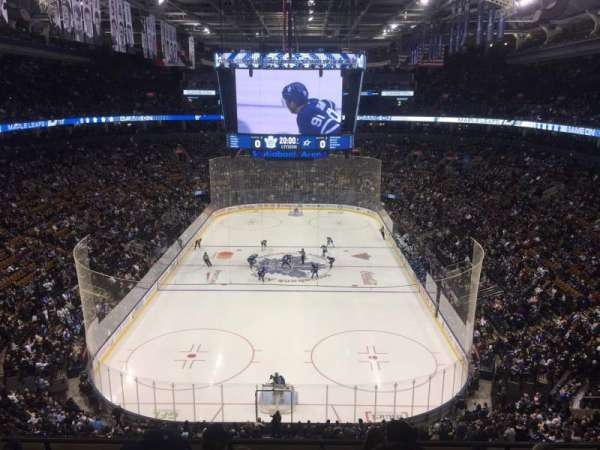 Scotiabank Arena, section: 303, row: 6, seat: 5