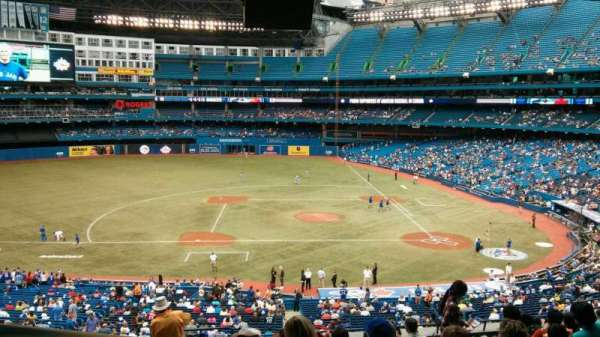 Rogers Centre, section: 229R, row: 13, seat: 1