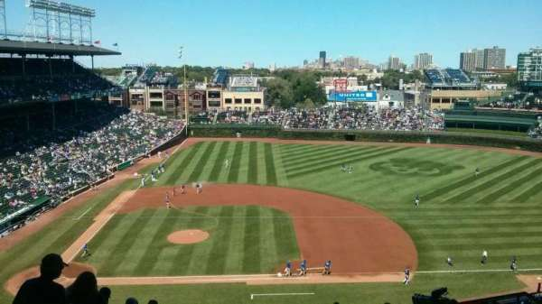 Wrigley Field, section: 424R, row: 3, seat: 4