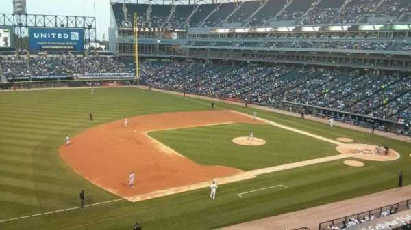 Guaranteed Rate Field, section: 344, row: 1, seat: 2