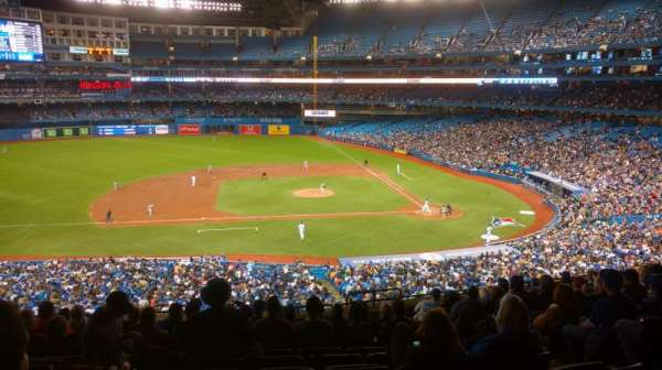 Rogers Centre, section: 219L, row: 13, seat: 102