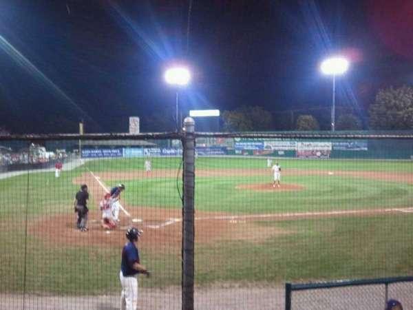 municipal stadium, section: 1, row: a, seat: 9