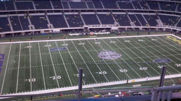 AT&T Stadium, section: 415, row: 3, seat: 1