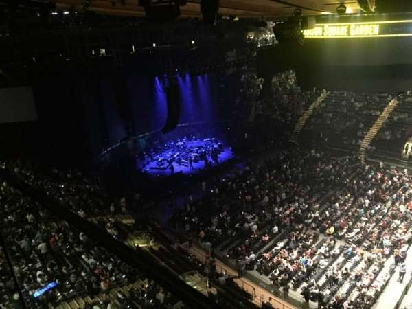 Madison Square Garden, section: 326, row: 1, seat: 39