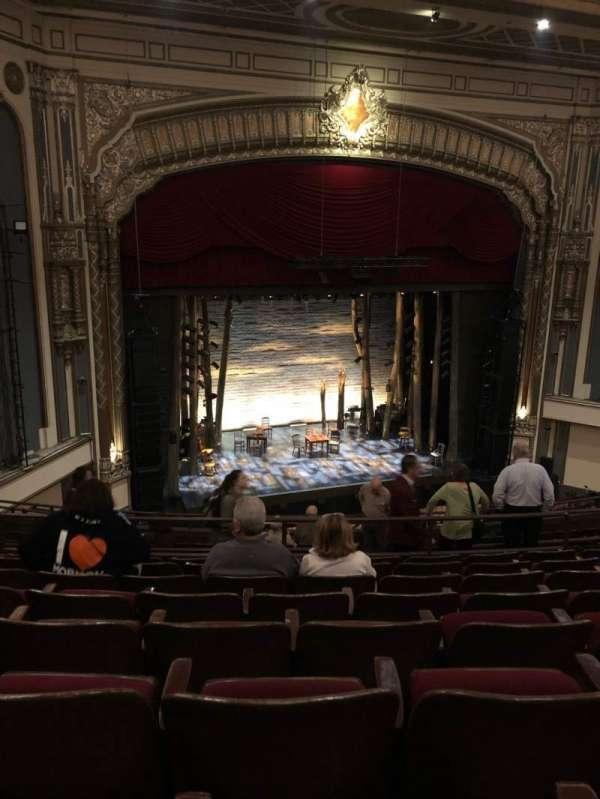 Golden Gate Theatre, section: Mezzanine L, row: H, seat: 23