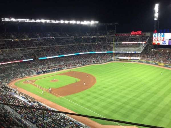 SunTrust Park, section: 412, row: 2