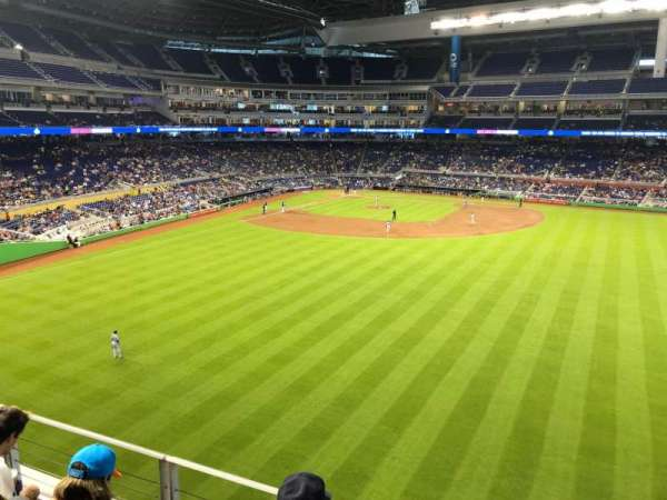 Marlins Park, section: 137, row: 3, seat: 12