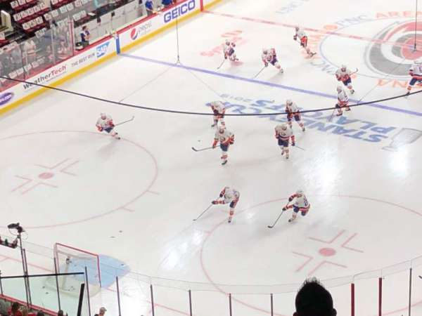 PNC Arena, section: 331, row: G, seat: 5
