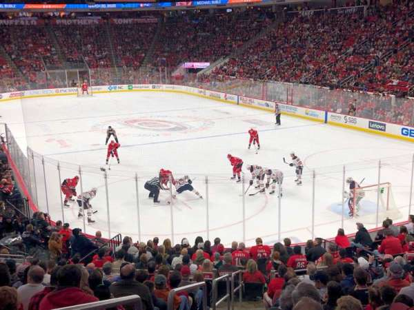 PNC Arena, section: 128, row: V, seat: 13