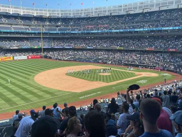 Yankee Stadium, section: 227B, row: 14, seat: 24