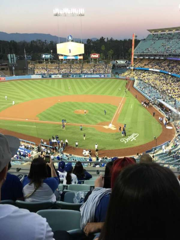 Dodger Stadium, section: 7td, row: G, seat: 13