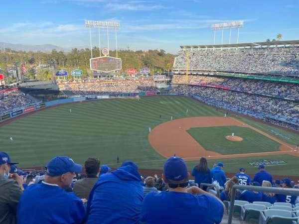 Dodger Stadium, section: 27R, row: U, seat: 3