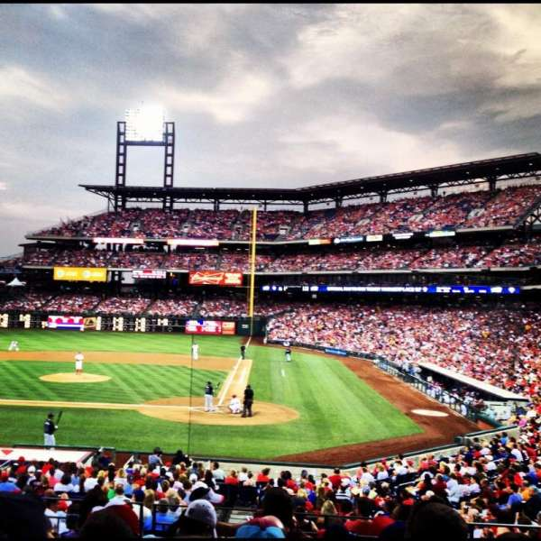 Citizens Bank Park, section: 127, row: 27, seat: 11