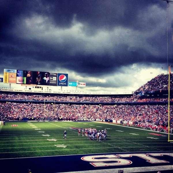New Era Field, section: 124, row: 23, seat: 1
