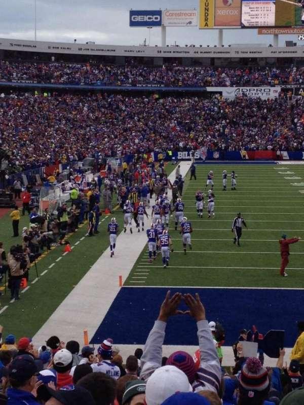 Highmark Stadium, section: 124, row: 23, seat: 1