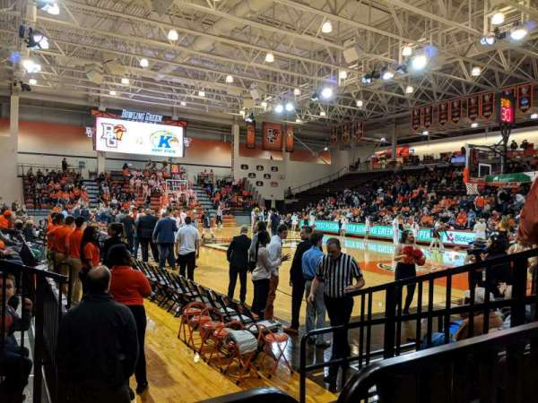 Stroh Center, section: 110, row: 4, seat: 7